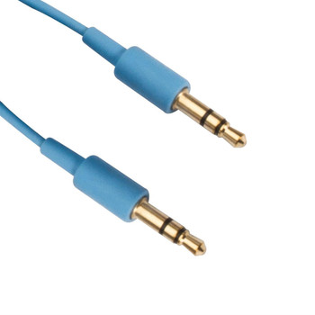 6ft 3.5mm Stereo Cable, Blue