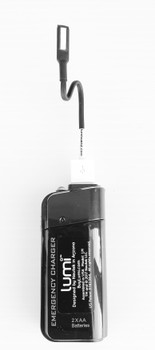 LUMi GO PowerBank with optional LUMi WAND Bendable LED Light