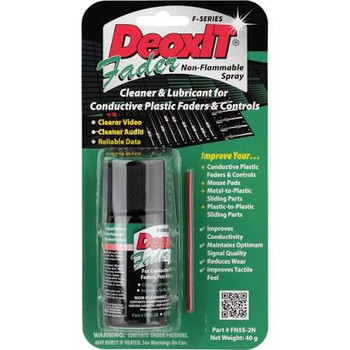 DeoxIT Mini Fader Spray - Nonflammable