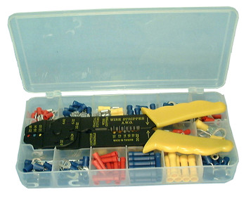 Insulated Solderless Terminal Kit with Tool