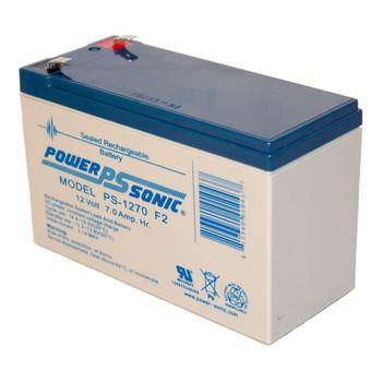 12 Volt 7 AH Sealed Lead Acid SLA Battery .250 F2 Terminal