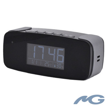 Digital Alarm Clock Hidden WiFi Camera