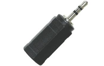 3.5mm Stereo Jack to 2.5mm Stereo Plug Headphone Adaptor, 2/pkg.