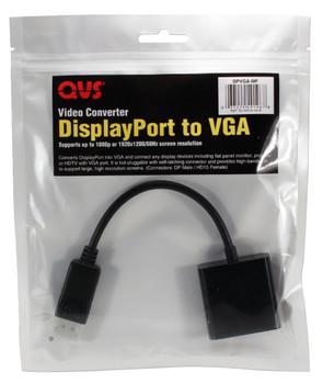 DisplayPort Male to VGA Female Digital Video Adaptor