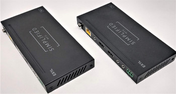 120m HDMI 2.0b (18Gbps) over Category Cable Extender  Kit