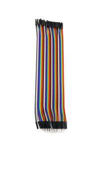 40-pin M/M Multi-Color Ribbon Cable Jumper Wires