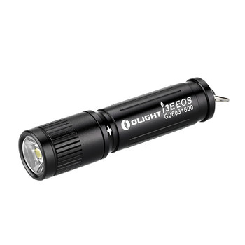 Black Pocket LED Flashlight  AAA Battery