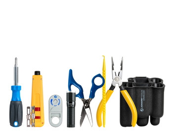 Punchdown Tool Kit for Data and Telecom Installers