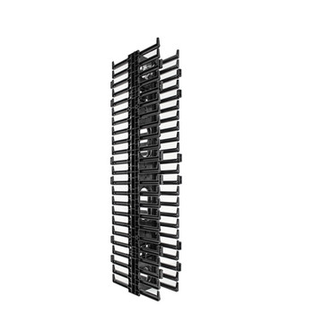 45U Vertical Cable Manager – Double Sided