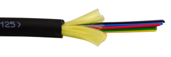 6-strand Single Mode OS2 Plenum Fiber Optic Cable, by the Foot