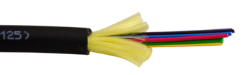 2-strand Multimode OM3 Indoor/Outdoor Plenum Fiber Optic cable, by the Foot