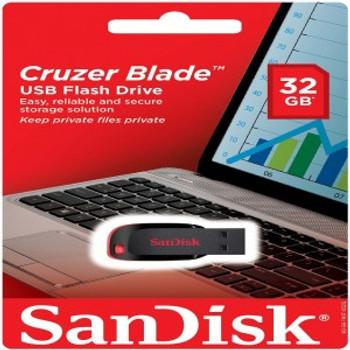 USB 2.0 Cruiser Blade 32GB Flash Drive