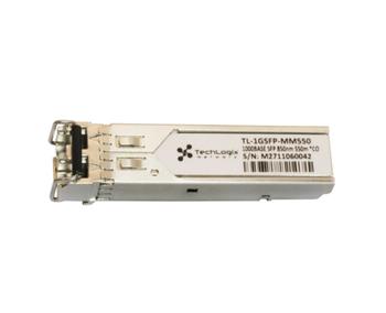 Techlogix Networx TL-1GSFP-MM550 1GBASE-SX SFP 850nm 550m DOM Transceiver -- Multimode Fiber