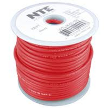 Test Lead Wire 5000V 18 Gauge Red Stranded