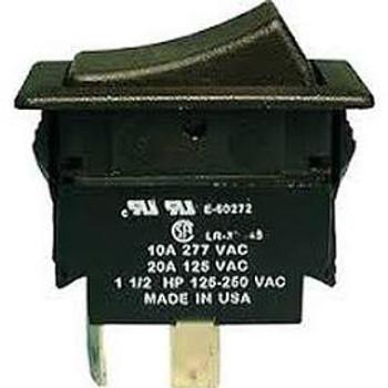 DPDT, ON-OFF-ON, Double Pole H.D. Rocker Switch