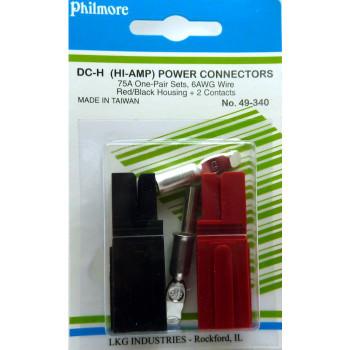 DC-H Hi-AMP Connectors One-Pair Sets 75A