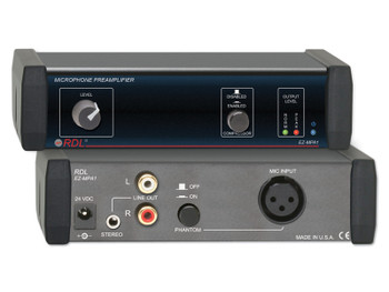 Stereo Output Microphone Preamplifier