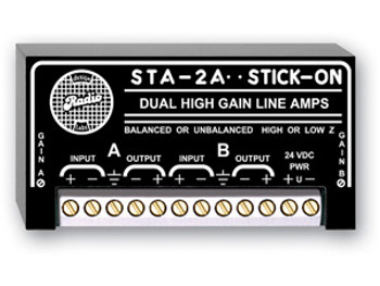 Dual High Gain Line Amps