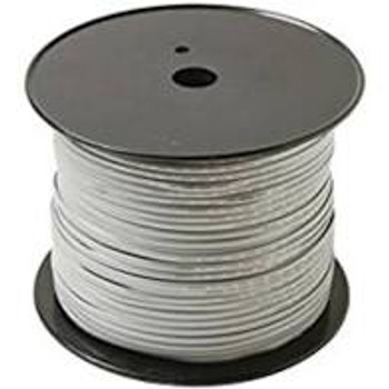 26AWG UL 4C Silver Satin Modular Cable 1000'