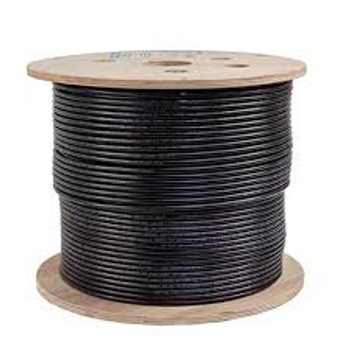 Cat 6 Shielded Cable 1000ft. Black