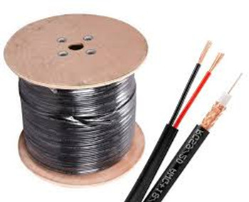RG59 Solid Copper + 18/2 Power 500ft