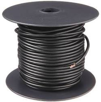 22 AWG Solid Copper Wire, Black 1000 ft.