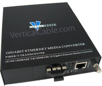 Gigabit TX/FX SC SM Media Converter