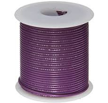 Stranded Copper Wire - 22 AWG - 25' - VIOLET