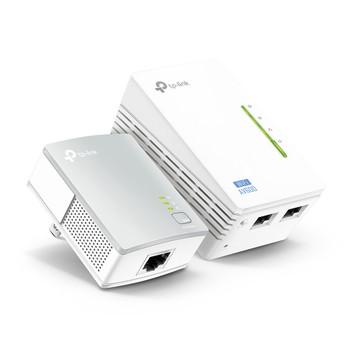 TP Link TL-WPA4220KIT 300Mbps Wi-Fi Range Extender, AV500 Powerline Edition