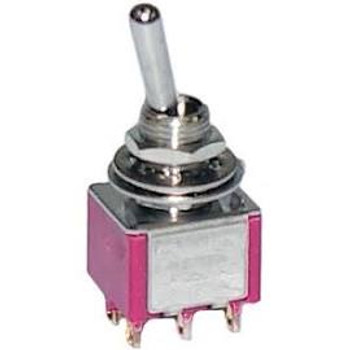 DPDT, ON-(ON), Miniature Toggle Switch
