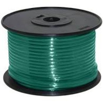 14AWG Stranded Copper Wire Green 100ft