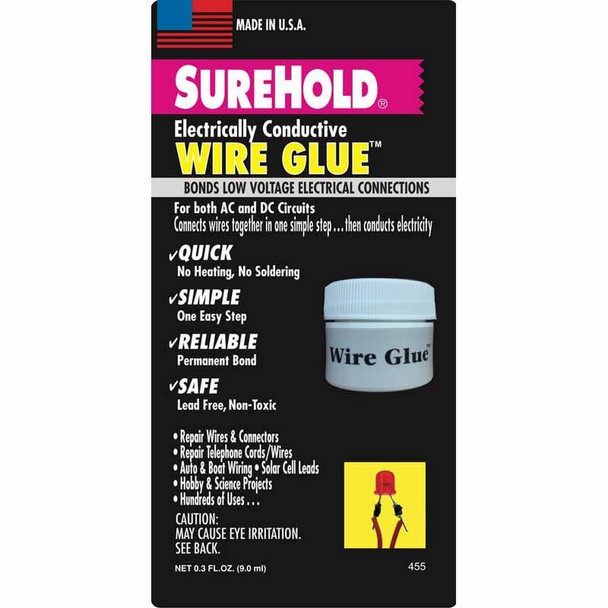 SureHold Electrically Conductive Wire Glue