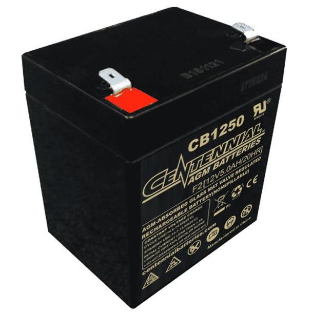12V 5 A.H. Sealed Lead Acid Battery