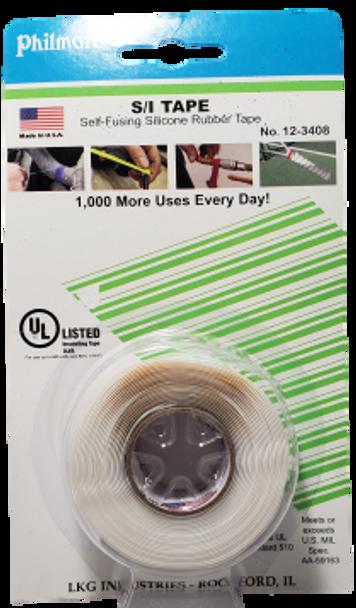 Philmore 12-3408, S/I Tape, Self-Fusing Silicone Rubber Tape, WHITE