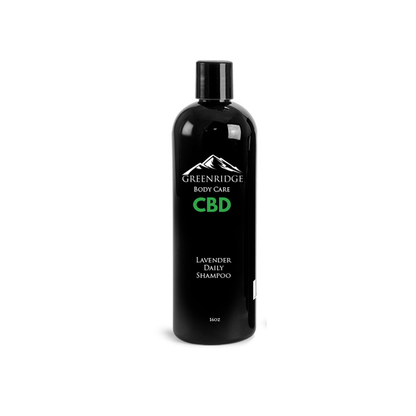 Lavender daily shampoo with CBD