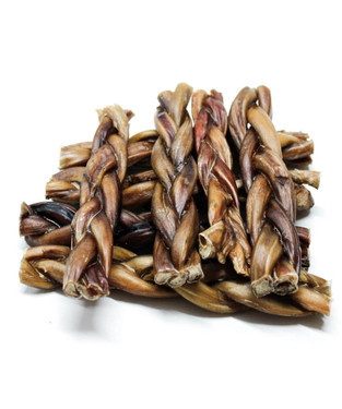"6"" BRAIDED BULLY STICKS - ODOR FREE!!"
