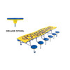 Mobile Stool Table - Wave