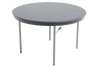 Dynalite Featherweight Heavy-Duty ABS Plastic Folding Table - Round