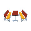 Mobile Convertible Bench with Table Package
