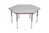 Multi-Functional Collaborative Activity Table - Genesis Collection - Hexagon