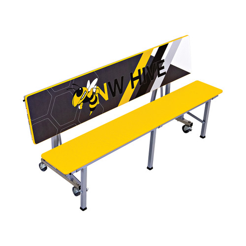 All-In-One Mobile Convertible Bench