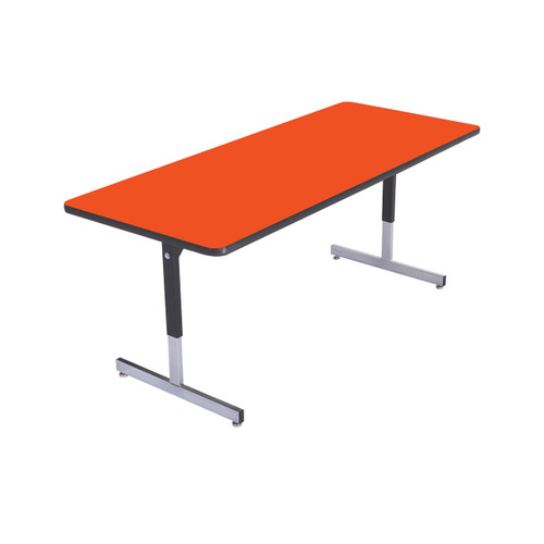 Computer and Technology Table - Pedestal Legs
