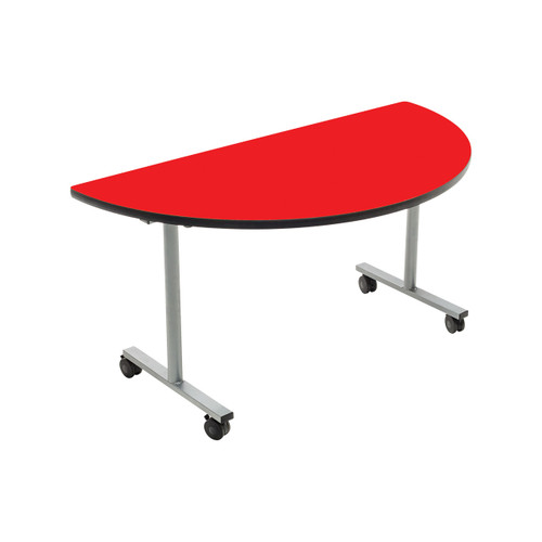 Mobile EZ-Tilt Table - Half Round