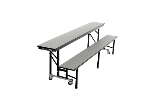 All-In-One Mobile Convertible Bench 8 Feet