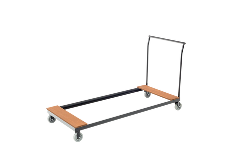 Heavy-Duty Table cart - Black Metal Finish