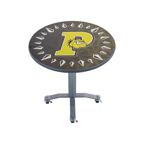 Mobile E-Z Tilt Cafe Table - Round