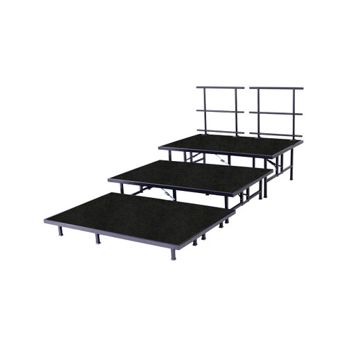 Fixed Height Risers - Polypropylene Top - 3 Levels