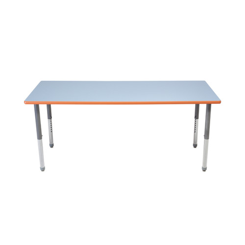 Whiteboard Table / Markerboard Table / Dry Erase Tables - Activity Legs - Rectangle