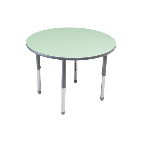 Whiteboard Table / Markerboard Table / Dry Erase Tables - Activity Legs - Round
