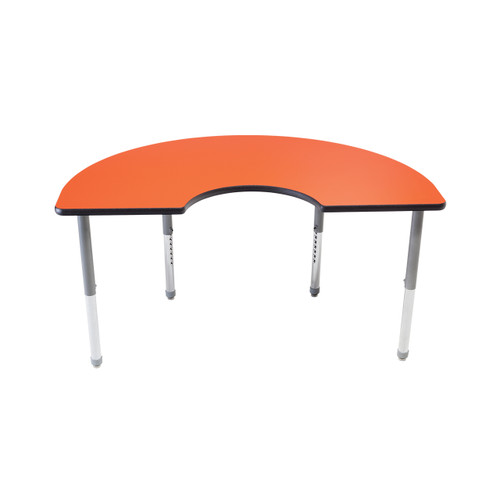 Whiteboard Table / Markerboard Table / Dry Erase Tables - Activity Legs - Kidney